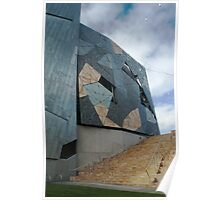Fed Square Abstract Poster