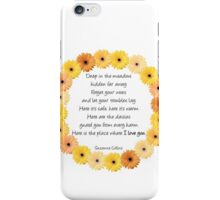 Deep in the Meadow iPhone Case/Skin