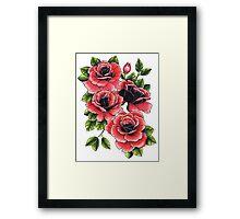 Rose Bunch Framed Print