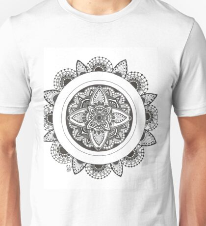 Ink Mandala Unisex T-Shirt