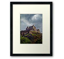 Edinburgh Castle, Scotland. Framed Print