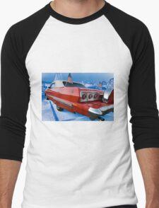 Red White Blue Men's Baseball ¾ T-Shirt