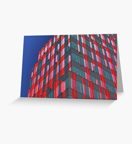 Red fins (1) Greeting Card