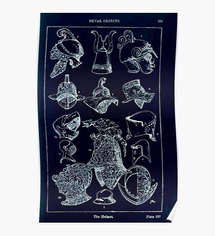 A Handbook Of Ornament With Three Hundred Plates Franz Sales Meyer 1896 0407 Metal Objects Helmet Inverted Poster