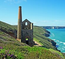 Cornish Engine House by hootonles