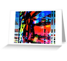Vivid City Greeting Card