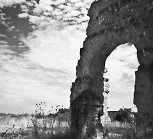 Roman Aqueduct by Luca Tranquilli
