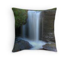 Ricochet Falls (detail) Throw Pillow