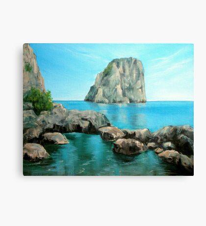 Faraglioni - Capri, Italy Canvas Print