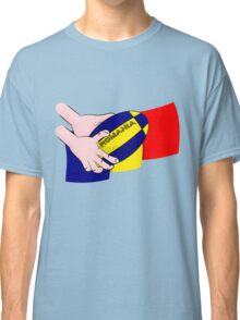 Rugby Romania Flag Classic T-Shirt