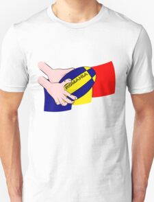 Rugby Romania Flag Unisex T-Shirt