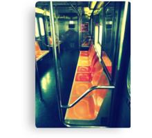 Fab Retro 7 train Canvas Print