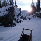 """Isolation - Alaska Canyon"" by rjheller1150"