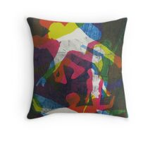 The Grand Armada #1 (from Meditations on Moby Dick) Throw Pillow