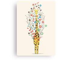 I Brought You These Flowers Metal Print