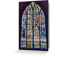 St. Lô Stained Glass Greeting Card