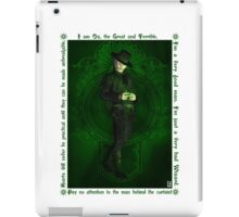 Steampunk Oz: The Wizard iPad Case/Skin