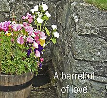 Barrelful of love --card by sarnia2