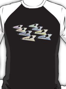 Simplistic Starships T-Shirt