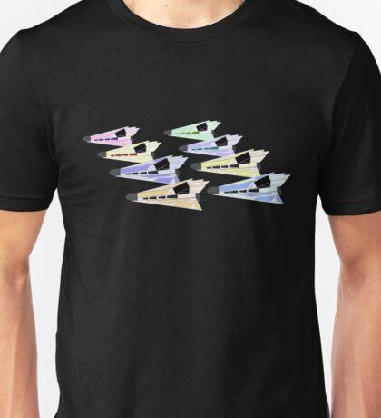 Simplistic Starships Unisex T-Shirt