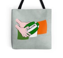 Rugby Ireland Flag Tote Bag