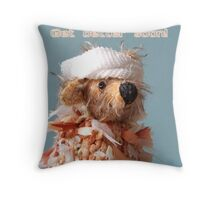 Get Better Soon! Throw Pillow