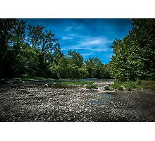 Riverbed Photographic Print