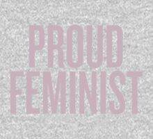 Proud Feminist One Piece - Short Sleeve