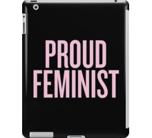Proud Feminist iPad Case/Skin
