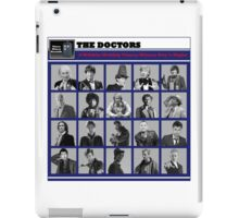A Wibbly-Wobbly Timey-Wimey Day's Night iPad Case/Skin