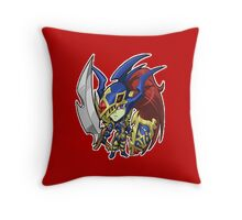 Black Luster Soldier Icon - Yugioh! Throw Pillow