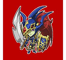 Black Luster Soldier Icon - Yugioh! Photographic Print
