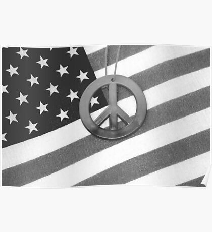 Peace and Patriotism Poster