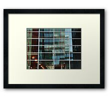 Reflecting - with lights Framed Print