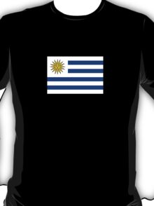 Uruguay World Cup Flag Futbol T-Shirt Bedspread Sticker T-Shirt