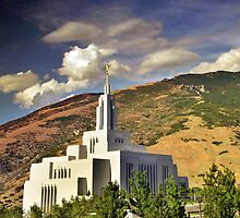 Draper LDS Temple by Ryan Houston