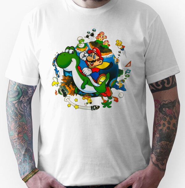 Super Mario World Planet. Unisex