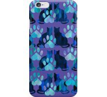 Feline Paw Pattern iPhone Case/Skin