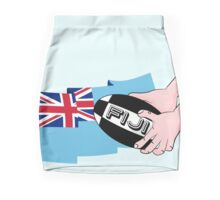 Fiji Rugby Flag Mini Skirt