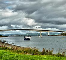 Skye Road Bridge.  by Lilian Marshall