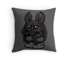 The Binding of Isaac - Minimalistic Satan [Vector] Throw Pillow