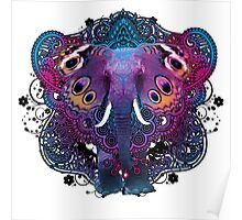 whimsical elephant Poster