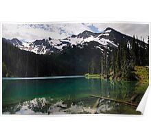 Moose Lake - Olympic N. P. Poster