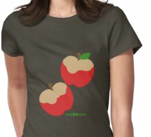 Sandy Apples Womens Fitted T-Shirt