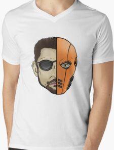 Slade Wilson/Deathstroke Mens V-Neck T-Shirt