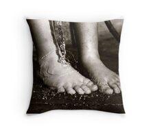 Feet Throw Pillow