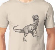 Dinosaur hand drawing Unisex T-Shirt