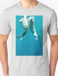 Beluga Whales Unisex T-Shirt