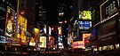 Dazzling Times Square by John Carpenter