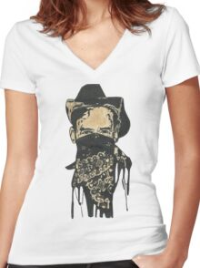 Rebel Within Women's Fitted V-Neck T-Shirt